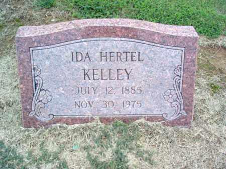 HERTEL KELLEY, IDA - Cross County, Arkansas | IDA HERTEL KELLEY - Arkansas Gravestone Photos