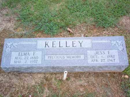 KELLEY, ELMA F - Cross County, Arkansas | ELMA F KELLEY - Arkansas Gravestone Photos