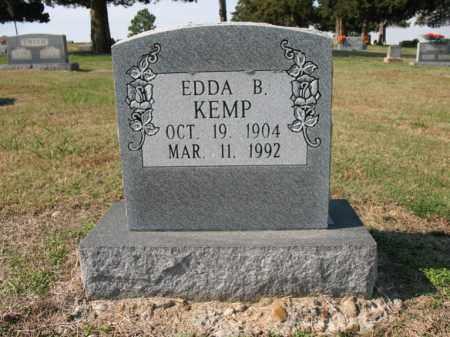 KEMP, EDDA B - Cross County, Arkansas | EDDA B KEMP - Arkansas Gravestone Photos