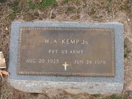 KEMP, JR (VETERAN), W A - Cross County, Arkansas | W A KEMP, JR (VETERAN) - Arkansas Gravestone Photos