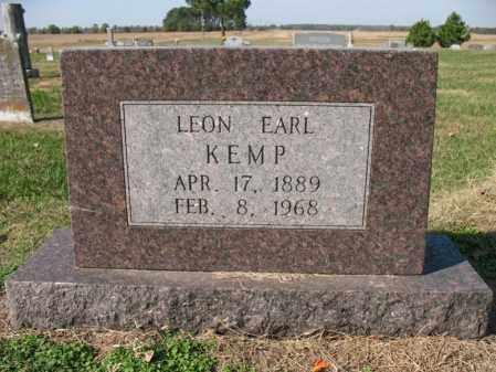 KEMP, LEON EARL - Cross County, Arkansas   LEON EARL KEMP - Arkansas Gravestone Photos