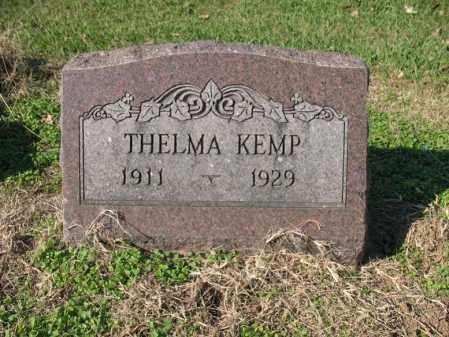 KEMP, THELMA - Cross County, Arkansas | THELMA KEMP - Arkansas Gravestone Photos