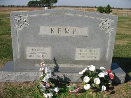 KEMP, WILBUR A - Cross County, Arkansas   WILBUR A KEMP - Arkansas Gravestone Photos