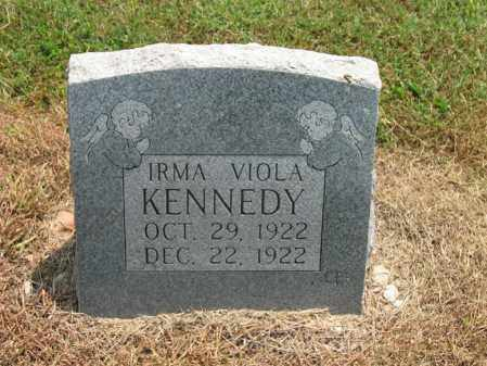 KENNEDY, IRMA VIOLA - Cross County, Arkansas | IRMA VIOLA KENNEDY - Arkansas Gravestone Photos