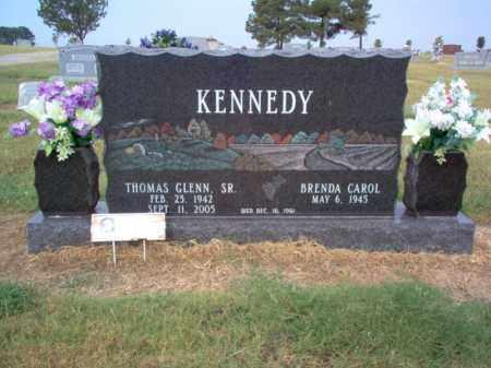 KENNEDY, SR., THOMAS GLENN - Cross County, Arkansas | THOMAS GLENN KENNEDY, SR. - Arkansas Gravestone Photos