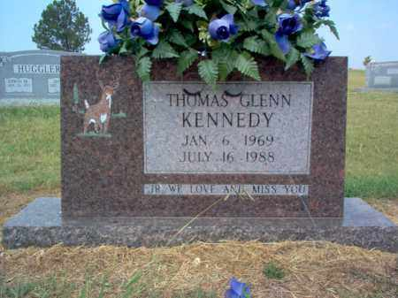 KENNEDY, THOMAS GLENN - Cross County, Arkansas   THOMAS GLENN KENNEDY - Arkansas Gravestone Photos