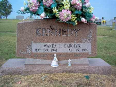 "KENNEDY, WANDA L ""CAROLYN"" - Cross County, Arkansas   WANDA L ""CAROLYN"" KENNEDY - Arkansas Gravestone Photos"