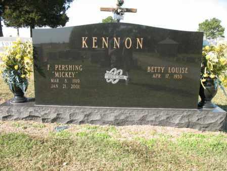 "KENNON, FREEMAN PERSHING ""MICKEY"" - Cross County, Arkansas   FREEMAN PERSHING ""MICKEY"" KENNON - Arkansas Gravestone Photos"