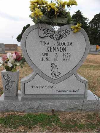 SLOCUM KENNON, TINA L - Cross County, Arkansas | TINA L SLOCUM KENNON - Arkansas Gravestone Photos