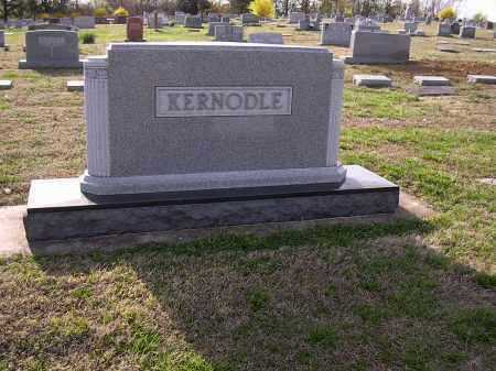 KERNODLE, PLOT STONE - Cross County, Arkansas | PLOT STONE KERNODLE - Arkansas Gravestone Photos