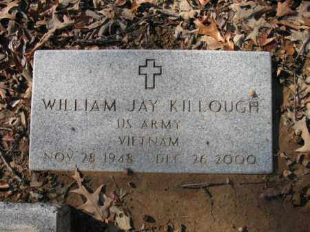 KILLOUGH (VETERAN VIET), WILLIAM JAY - Cross County, Arkansas | WILLIAM JAY KILLOUGH (VETERAN VIET) - Arkansas Gravestone Photos