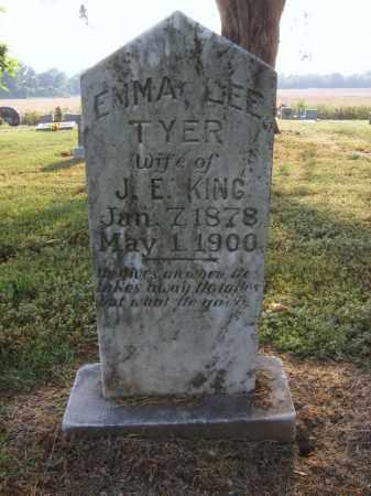 KING, EMMA LEE - Cross County, Arkansas | EMMA LEE KING - Arkansas Gravestone Photos