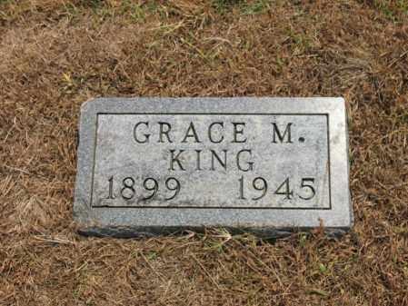KING, GRACE M - Cross County, Arkansas   GRACE M KING - Arkansas Gravestone Photos