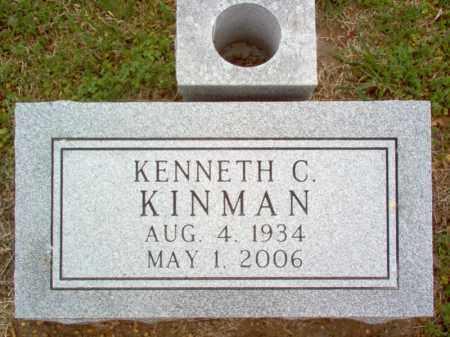 KINMAN, KENNETH C - Cross County, Arkansas | KENNETH C KINMAN - Arkansas Gravestone Photos