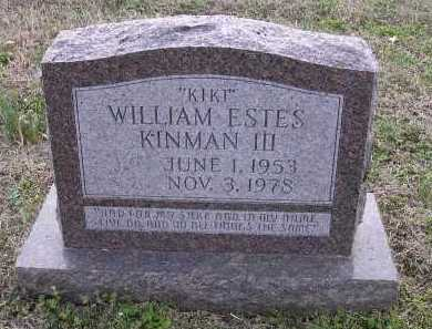 "KINMAN III, WILLIAM ESTES ""KIRT"" - Cross County, Arkansas   WILLIAM ESTES ""KIRT"" KINMAN III - Arkansas Gravestone Photos"