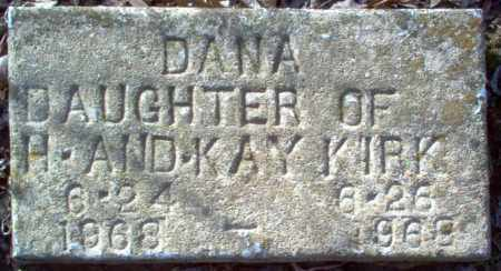 KIRK, DANA - Cross County, Arkansas | DANA KIRK - Arkansas Gravestone Photos