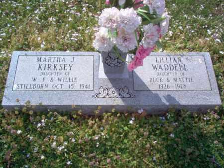 WADDELL, LILLIAN - Cross County, Arkansas | LILLIAN WADDELL - Arkansas Gravestone Photos