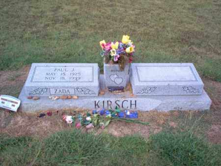 KIRSCH, PAUL JAKE - Cross County, Arkansas | PAUL JAKE KIRSCH - Arkansas Gravestone Photos