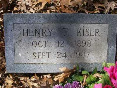 KISER, HENRY T. - Cross County, Arkansas | HENRY T. KISER - Arkansas Gravestone Photos