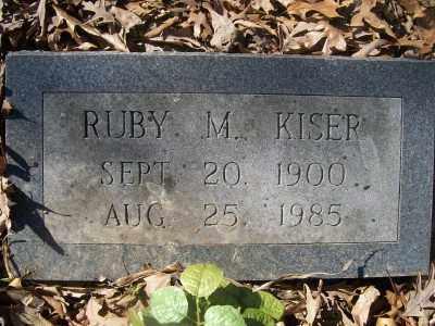 KISER, RUBY M. - Cross County, Arkansas | RUBY M. KISER - Arkansas Gravestone Photos