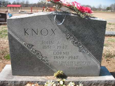 KNOX, CORNIE - Cross County, Arkansas | CORNIE KNOX - Arkansas Gravestone Photos