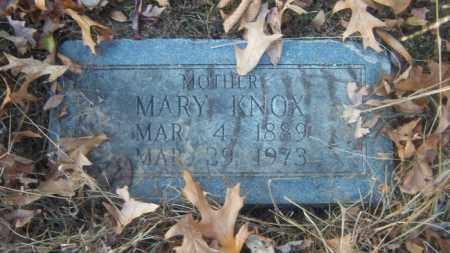 KNOX, MARY - Cross County, Arkansas | MARY KNOX - Arkansas Gravestone Photos