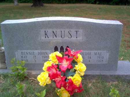 KNUST, BENNIE JOHN - Cross County, Arkansas   BENNIE JOHN KNUST - Arkansas Gravestone Photos