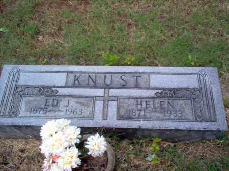 KNUST, HELEN - Cross County, Arkansas | HELEN KNUST - Arkansas Gravestone Photos