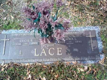 LACE, EMMA L - Cross County, Arkansas | EMMA L LACE - Arkansas Gravestone Photos