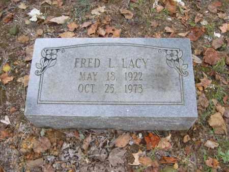 LACY, FRED L - Cross County, Arkansas | FRED L LACY - Arkansas Gravestone Photos