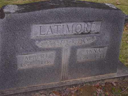 LATIMORE, ALBERT - Cross County, Arkansas | ALBERT LATIMORE - Arkansas Gravestone Photos
