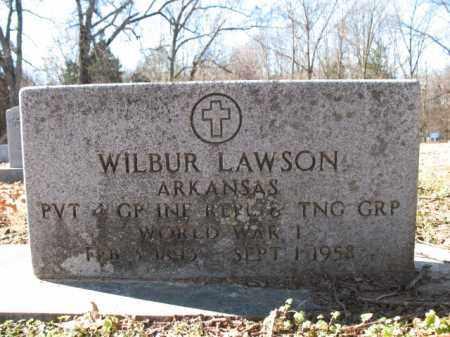 LAWSON (VETERAN WWI), WILBUR - Cross County, Arkansas   WILBUR LAWSON (VETERAN WWI) - Arkansas Gravestone Photos