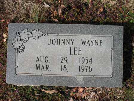 LEE, JOHNNY WAYNE - Cross County, Arkansas   JOHNNY WAYNE LEE - Arkansas Gravestone Photos
