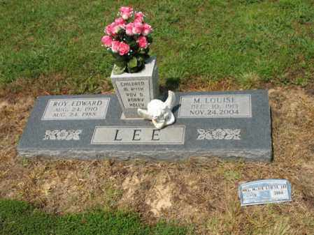 LEE, M LOUISE - Cross County, Arkansas | M LOUISE LEE - Arkansas Gravestone Photos
