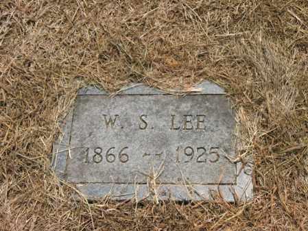 LEE, W S - Cross County, Arkansas | W S LEE - Arkansas Gravestone Photos