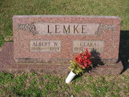 LEMKE, CLARA - Cross County, Arkansas | CLARA LEMKE - Arkansas Gravestone Photos