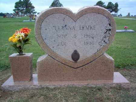 LEMKE, LEANNA - Cross County, Arkansas | LEANNA LEMKE - Arkansas Gravestone Photos