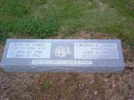 LEMKE, LUIE M - Cross County, Arkansas | LUIE M LEMKE - Arkansas Gravestone Photos