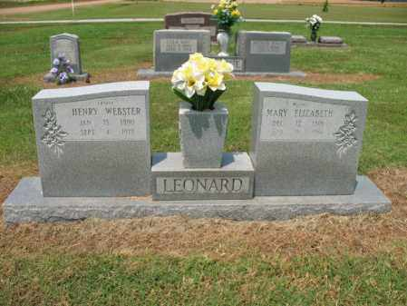 LEONARD, MARY ELIZABETH - Cross County, Arkansas | MARY ELIZABETH LEONARD - Arkansas Gravestone Photos