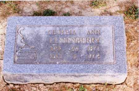 LESSENBERRY, GEORGIA ANN - Cross County, Arkansas   GEORGIA ANN LESSENBERRY - Arkansas Gravestone Photos