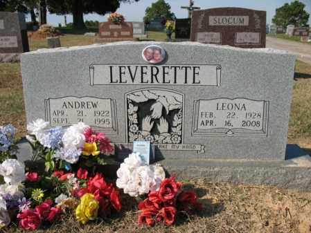 LEVERETTE, LEONA MAE - Cross County, Arkansas | LEONA MAE LEVERETTE - Arkansas Gravestone Photos