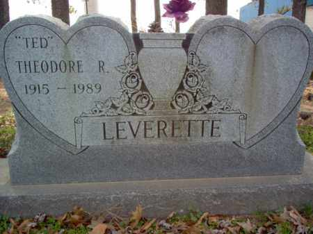 "LEVERETTE, THEODORE R ""TED"" - Cross County, Arkansas 