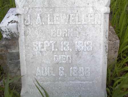 LEWELLEN, J. A. - Cross County, Arkansas   J. A. LEWELLEN - Arkansas Gravestone Photos