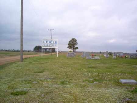 *LEWIS CEMETERY,  - Cross County, Arkansas |  *LEWIS CEMETERY - Arkansas Gravestone Photos