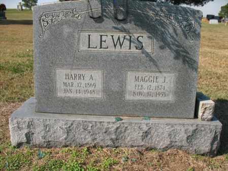LEWIS, HARRY A - Cross County, Arkansas   HARRY A LEWIS - Arkansas Gravestone Photos