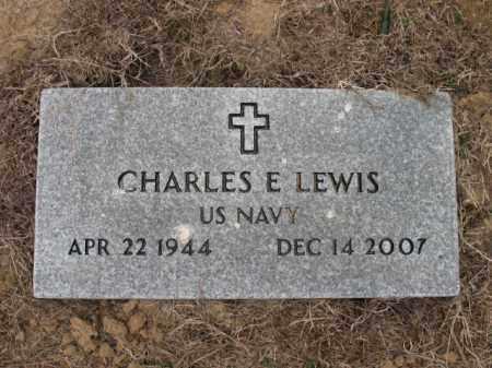 LEWIS (VETERAN), CHARLES E - Cross County, Arkansas   CHARLES E LEWIS (VETERAN) - Arkansas Gravestone Photos