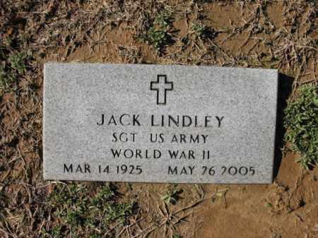 LINDLEY (VETERAN WWII), JACK - Cross County, Arkansas | JACK LINDLEY (VETERAN WWII) - Arkansas Gravestone Photos