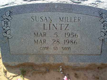 LINTZ, SUSAN - Cross County, Arkansas | SUSAN LINTZ - Arkansas Gravestone Photos