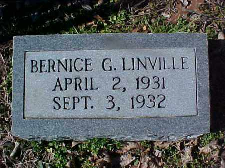 LINVILLE, BERNICE G - Cross County, Arkansas | BERNICE G LINVILLE - Arkansas Gravestone Photos