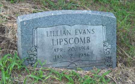 LIPSCOMB, LILLIAN - Cross County, Arkansas | LILLIAN LIPSCOMB - Arkansas Gravestone Photos